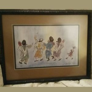LIMITED EDITION LITHOGRAPH AZOULAY GALLERY $250